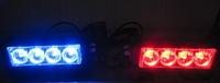 Стробоскопы красно/синие Federal signal S5-4 LED-12В(7806)