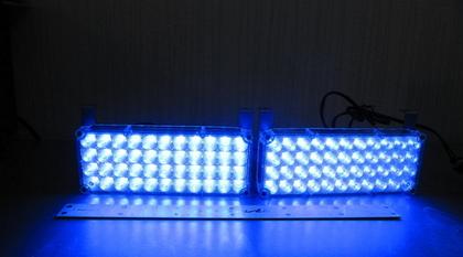 Стробоскопы под бампер Led 2-44 синие(7808)