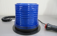Проблесковый маячок LED13 синий на магните 12-24В(7820)