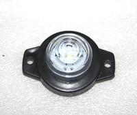 Габаритный фонарь 12-24 вольт белый 0164 для грузовиков(7823)