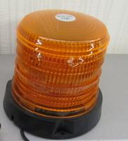 Проблесковый маячок LED 04 10-30V на магните оранжевый(7833)