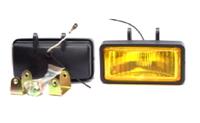 Фары дополнительные модель VARRAN HY-039B/YELLOW H3-12V-55W/155*67mm (8069)