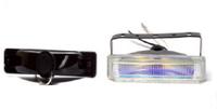 Фары дополнительные модель VARRAN HY-050A/RAINBOW H3-12V-55W/178*35mm (8077)