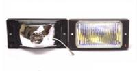 Фары дополнительные модель VARRAN HY-174-2/RAINBOW H3-12V-55W/173*84mm/LADA/2110-15 (хром)(8099)