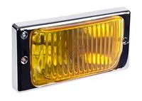 Фары дополнительные модель VARRAN HY-174B-2/YELLOW H3-12V-55W/173*84mm/LADA/2110-15 (хром)(8104)