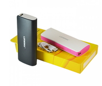 Портативная батарея Power Bank Golf Lonsmax GF-027 8000mAh Black(8219BGF027)