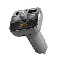 Bluetooth FM-трансмиттер модулятор Earldom M11 Серый(8228M11)