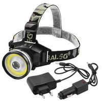 Фонарь Police 12v T631-COB+3W,встроенный аккумулятор,ЗУ 200V/12V, комплект(8273T631)