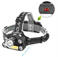 Фонарь на лоб Police BL-T66-T6+4XPE+COB signal light(8284BLT66)