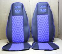 Чехлы на сидения Daf XF 95 (03-07) синие для грузовиков(8338) DAF