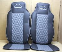 Чехлы на сидения Man TGA 460 (02-05) серые для грузовиков(8340) MAN