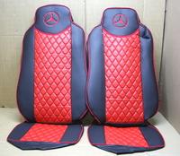 Чехлы на сидения Mercedes Actros 18-44 (09-15) красные для грузовиков(8342) MERCEDES-BENZ