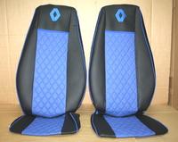 Чехлы на сидения Renault Premium 430-440-460 (05-14) синие для грузовиков(8343) RENAULT