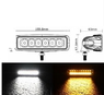 Фара дополнительного света Allpin 18 Вт 2 цвета (8384WY18W)