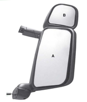 Зеркало  SCANIA 124/144 Serie400( двойное с мотором и подогревом)(Правое)/862 SCANIA