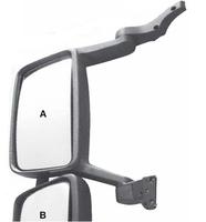 Зеркало  VOLVO FH II,FM II (с мотором и подогревом) (530x420)/867 VOLVO