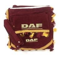 Шторы в кабину грузовика Daf бордовый (8820) DAF