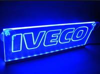 Светодиодная табличка IVECO 200x120мм 24v(8700) IVECO