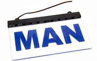 Светодиодная табличка MAN 200x120мм 24v(8701)