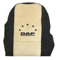 Чехлы сидений грузовика Даф вельвет бежево-черные (8834) DAF