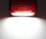 Задний фонарь светодиодный 12в для прицепа, лафеты (8857DB)
