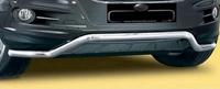 ЗАЩИТА ПЕРЕДНЕГО БАМПЕРА ТРУБА ОДИНАРНАЯ ИЗОГНУТАЯ VolksWagen Т6 2010+ (8966)  VW