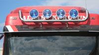 ЛЮСТРЫ НА КРЫШУ ГРУЗОВИКА DAF XF 105 GUARD UPPER (9109) DAF