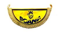 """Вымпел полукруг """"Scania"""" (9332) SCANIA"""