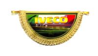 """Вымпел полукруг """"Iveco"""" (9337) IVECO"""