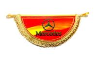 """Вымпел полукруг """"Mercedes Benz"""" (9339) MERCEDES-BENZ"""