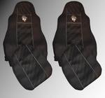 Чехлы DAF XF 105 от 2012 сидения вращ. 2ремня /2531