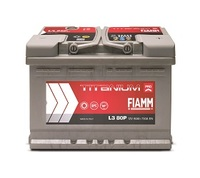 Автомобильный аккумулятор FIAMM TITANIUM PRO(PLUS) (75A/ч)/3466 FIAMM