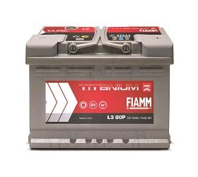 Автомобильный аккумулятор FIAMM TITANIUM PRO(PLUS) (80A/ч)/3467