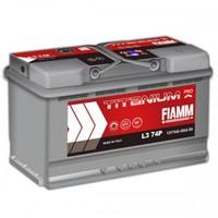Автомобильный аккумулятор FIAMM TITANIUM PRO(PLUS) (74A/ч)/3465 FIAMM