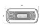 Фонарь светодиодный задний универсальный FRISTOM FT-130 NT COF/5867