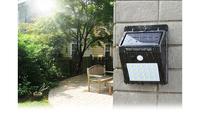 Настенный светильник на солнечной батарее Solar Powered LED Wall Light (11544)