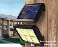 Настенный фонарь прожектор на солнечной батарее Solar Powered LED(11546)