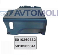 Крышка аккумулятора Рено Премиум/4074
