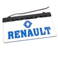 Светодиодная табличка RENAULT 200x120мм 24v (11714) RENAULT