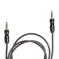 Кабель аудио AUX 3,5 мм 1м (Black) (AUX  Bk)