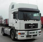 Фара на МАН модель F2000 3-серия от 1994, с поворотом/505567 L/1411