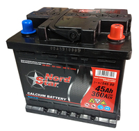 Автомобильный аккумулятор NORD STAR (45A/ч)/3494 NORD STAR