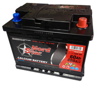 Автомобильный аккумулятор NORD STAR (60A/ч)/3493 NORD STAR