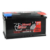 Автомобильный аккумулятор NORD STAR (100A/ч)/3489 NORD STAR