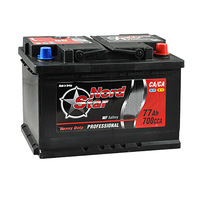 Автомобильный аккумулятор NORD STAR 77A/ч (3491) NORD STAR