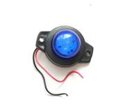 Габаритный фонарь 12-24 вольт синий 0164 для грузовиков(7825)