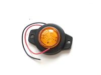 Габаритный фонарь 12-24 вольт желтый 0164 для грузовиков(7822)