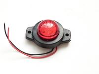 Габаритный фонарь 12-24 вольт красный 0164 для грузовиков(7824)