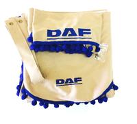 Шторы в кабину грузовика Даф с ламбрекеном (8518) DAF