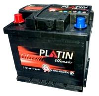 Автомобильный аккумулятор PLATIN Classic (50A/ч)/3523 PLATIN